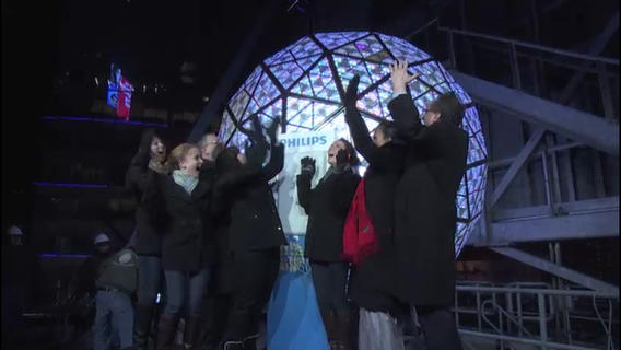 Watch the Times Square Ball drop for New Year's Eve 2013 from iPhone or Android