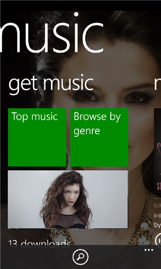 Xbox Music on Windows Phone