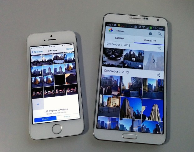Easily sharing photos via Photo Stream is just one example of the iPhone 5s user experience that is better if you are friends with a lot of iPhone owners.