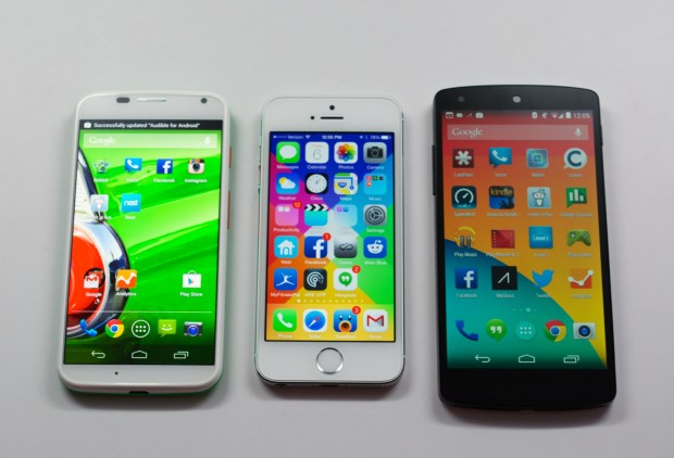While screen sizes impact overall device size, it is possible to build a larger display into a phone that is not much larger than the iPhone 5s.