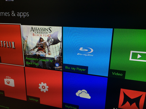 Users will need to download the Blu-ray app for the Xbox One separately.