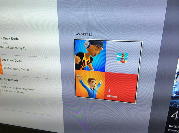 Make your Xbox Live friends favorites to cut through the clutter.