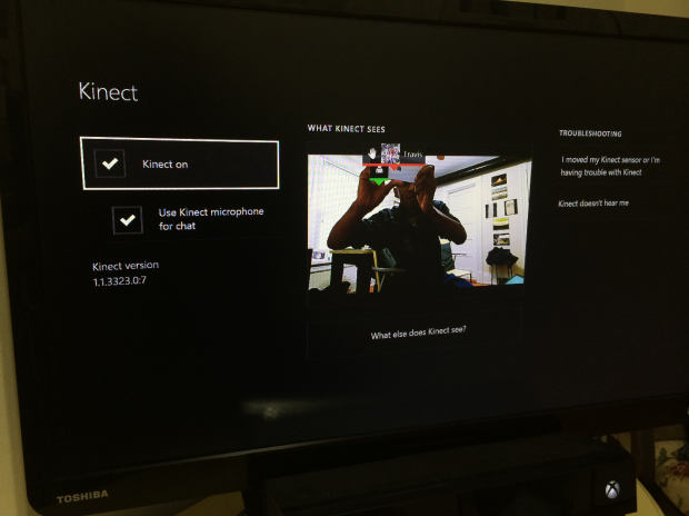 See how the Kinect 2 sensor sees you to fine-tune your Kinect's performance.