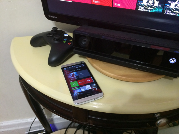You can launch apps, respond to messages and find out more about the programs you're watching through Xbox One SmartGlass.