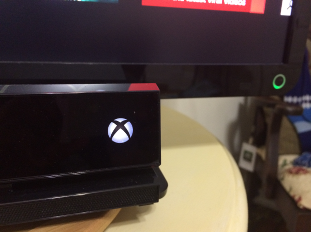 The Xbox One's Kinect sensor can turn your home audio and video equipment on or off.