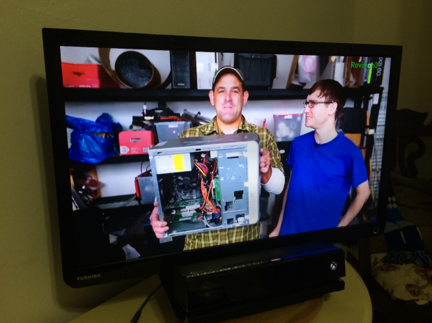 This video is streaming from a Windows 8 device's podcast app.