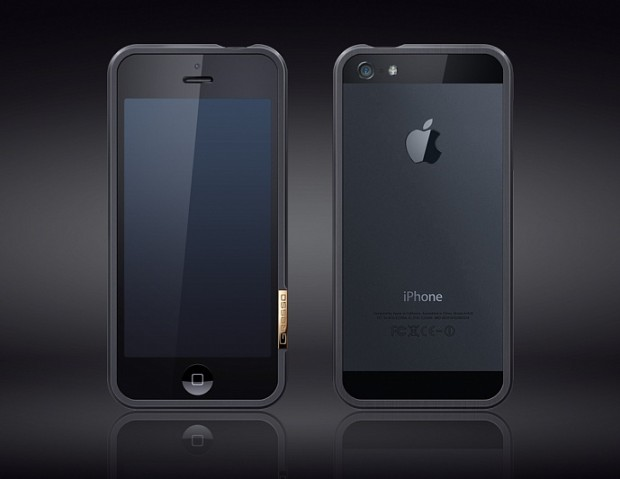This is a $1,000 iPhone 5 case, and it's not the most expensive that they offer.