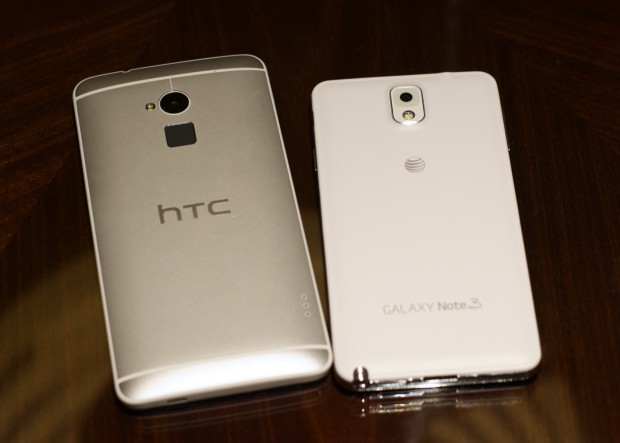 Galaxy Note 3 vs HTC One Max - 7