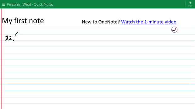 How To Make Writing in OneNote MX Easier (10)