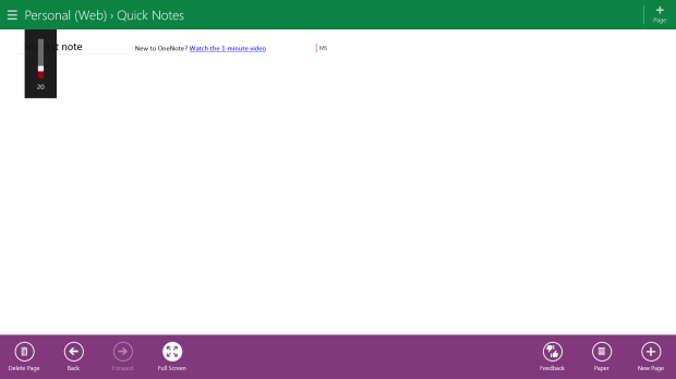 How To Make Writing in OneNote MX Easier (2)