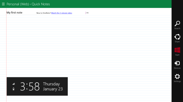 How To Make Writing in OneNote MX Easier (7)