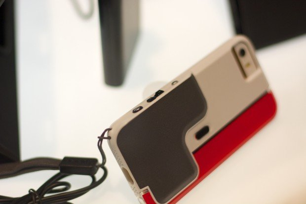 The Incipio Focal Camera Case for the iPhone 5s adds physical shutter and zoom buttons.