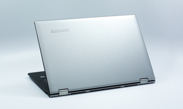 The Yoga 2 Pro is made of soft touch materials.