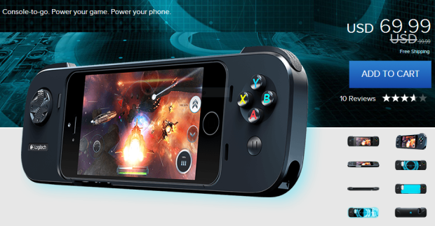 The Logitech PowerShell is now $69.99.