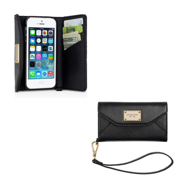 This iPhone 5 case is also a clutch.