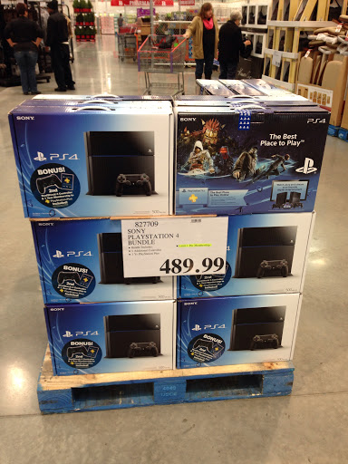 It's still hard to find a PS4 in stock in early 2014.