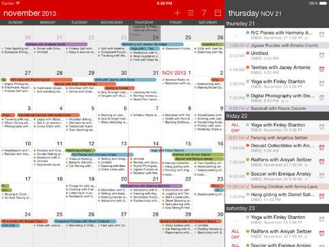 calvetica calendar
