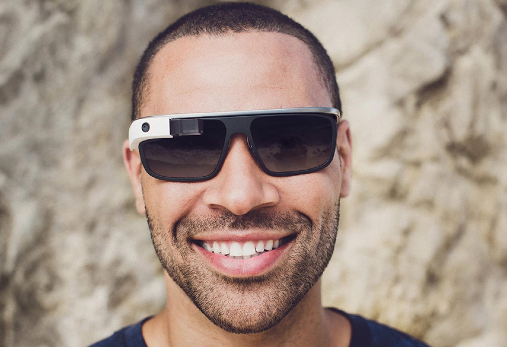 dace44df7b Google Glass Gets Stylish with Shades   Prescription Lenses