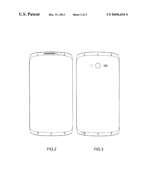This patent spawned Galaxy S5 and Galaxy Note 4 design speculation.