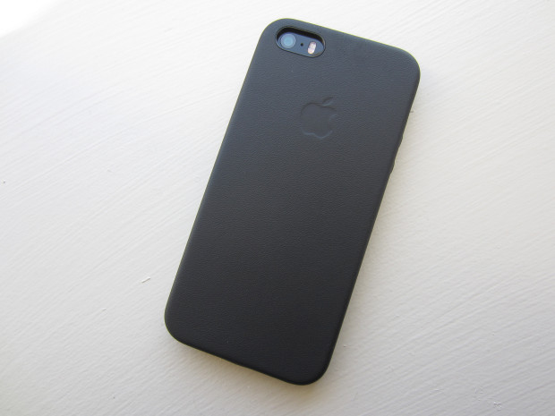 Apple's leather iPhone 5 case is minimal and beautiful.