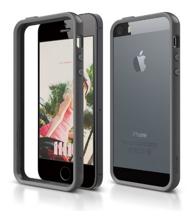 This iPhone 5 bumper case is cheap and comes in multiple colors.