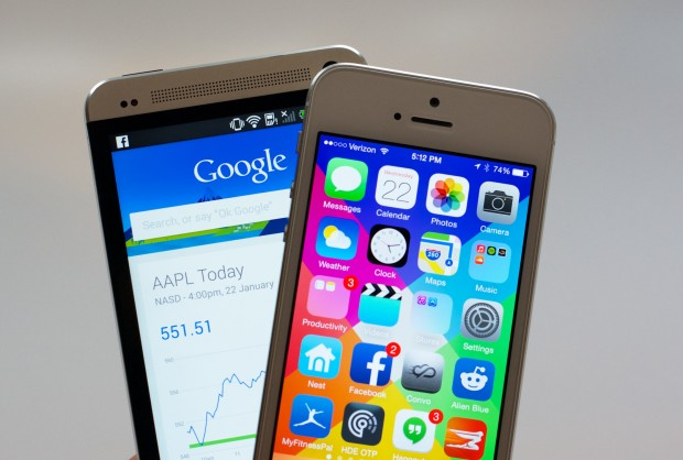 With this information and a few minutes playing with an HTC One and an iPhone 5s you are ready to buy.