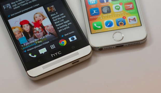 iOS 7 and HTC Sense 5.5 offer different user experiences that some users will appreciate more than others.