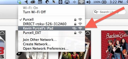 personal hotspot over usb on mac