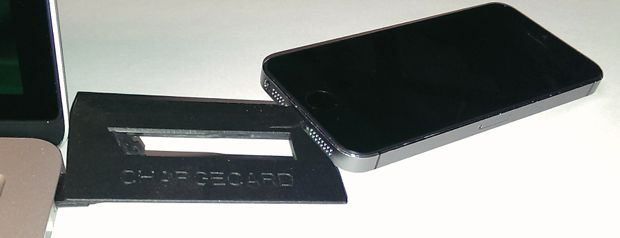 nomad charge card with iphone