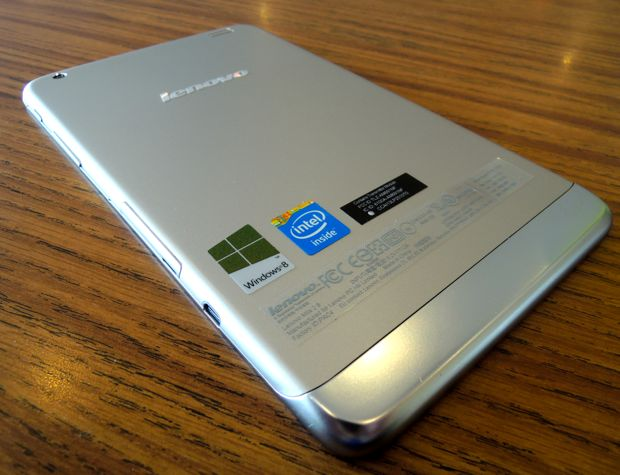 Lenovo Miix 2 8 Windows 8 Tablet back