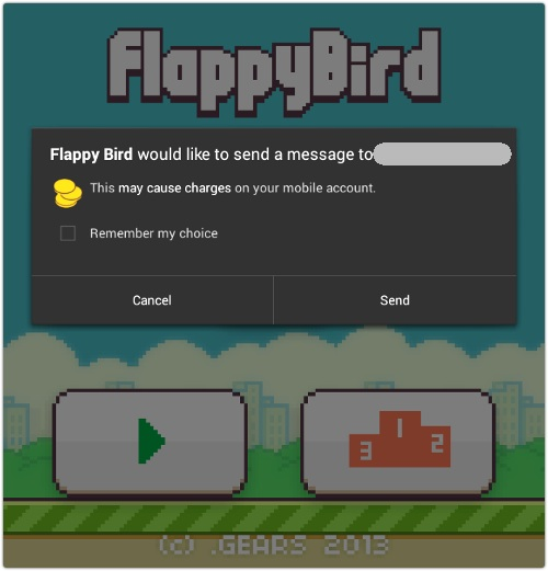 Flappy Bird Android downloads could cheat users out of cash thanks to Malware.