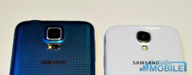 The Galaxy S5 arrives with a new 16MP sensor and new features not found on the Galaxy S4.