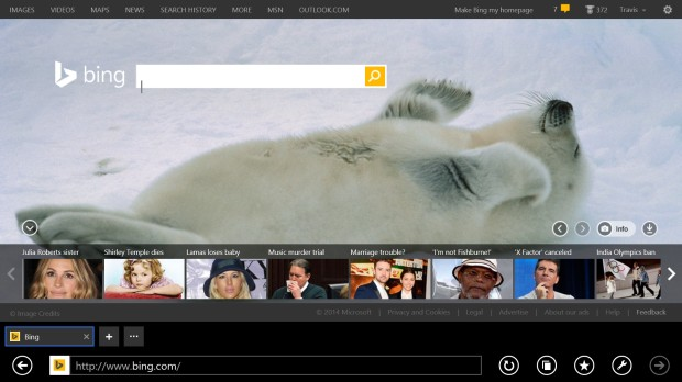 How to Keep the Address bar On Screen in Internet Explorer on Windows 8 (6)