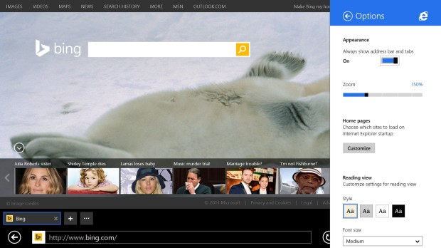 How to Keep the Address bar On Screen in Internet Explorer on Windows 8 (7)