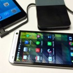 TYLT ENERGI Pack 5K+ Battery with iphone and htc one