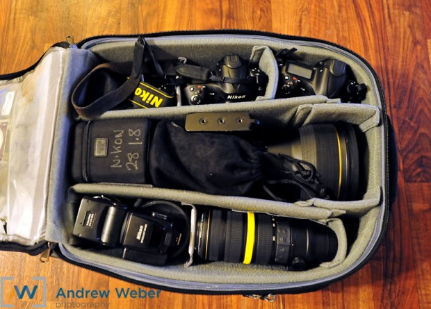The Nikon D4 played an integral role in this Olympic Photographer's gear.
