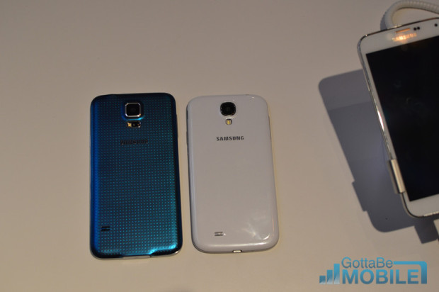 The Galaxy S5 price lines up with the Galaxy S4 price on T-Mobile.
