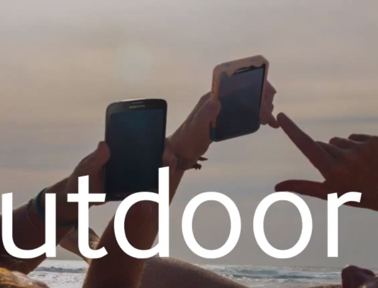 Is Samsung teasing part of the Galaxy S5, or is this a current phone with photography tricks?