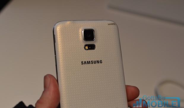 The Galaxy S5 has a 16 megapixel camera