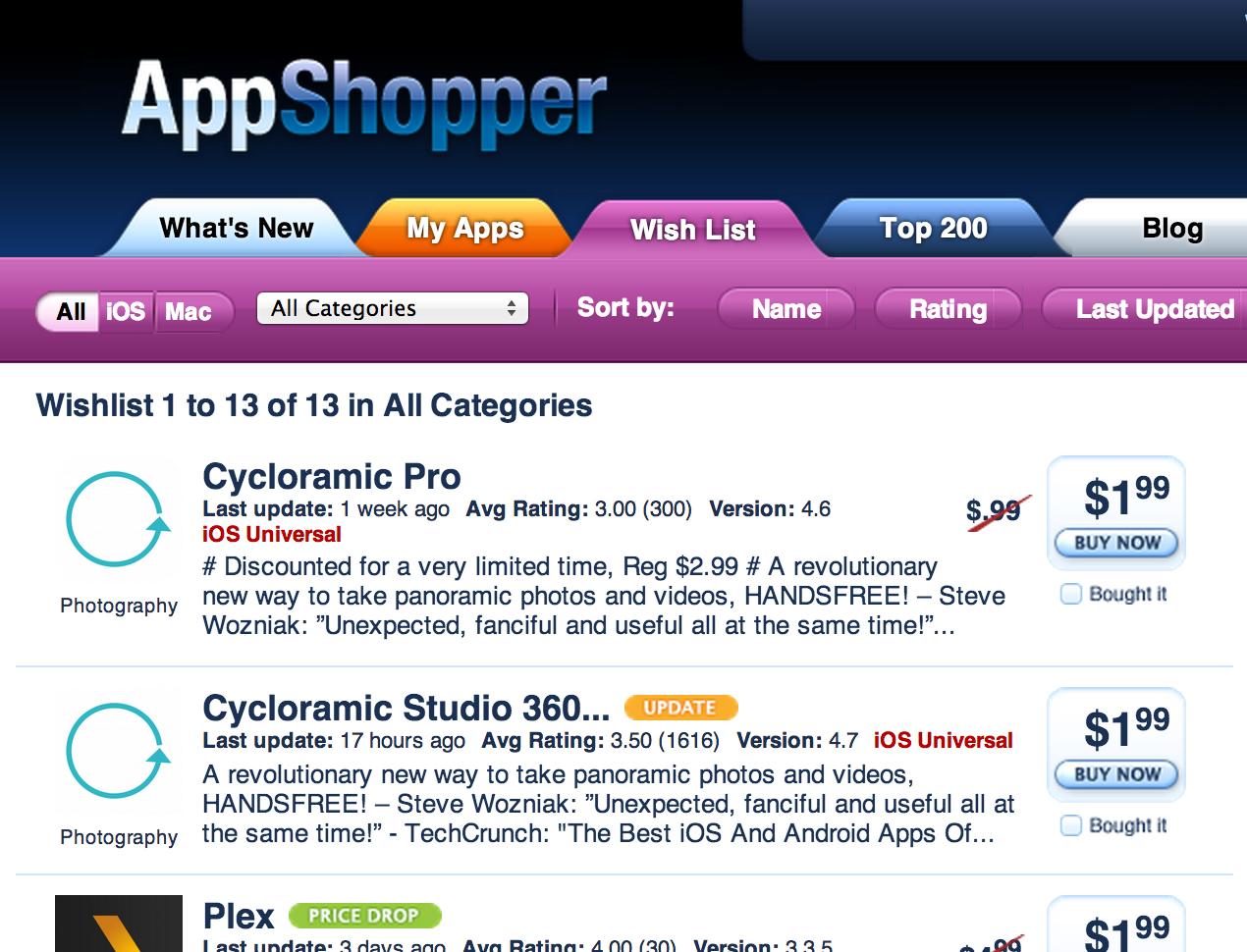 ios app deal
