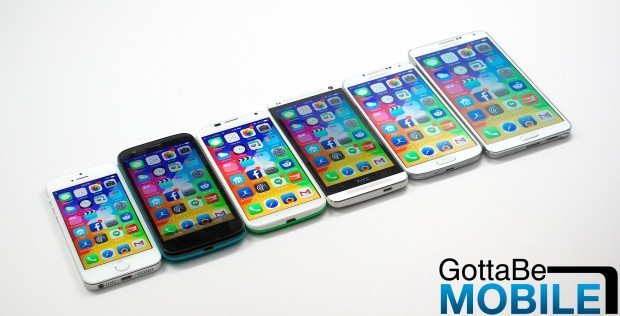 We could see two iPhone 6 models with a larger screen sizes in 2014.