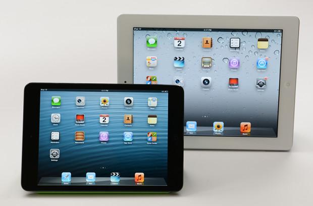 iPad 2 vs iPad mini with Retina display