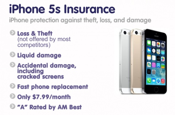 Used iPhone insurance is available from Protect Your Bubble if the iPhone is less than a year old.