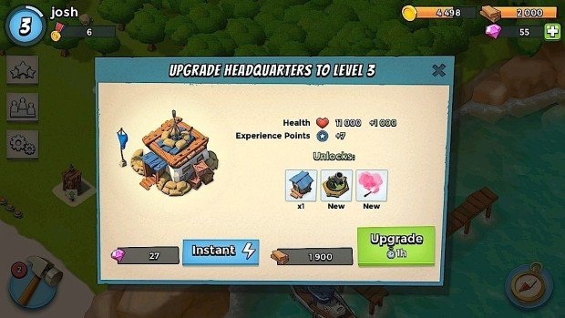Boom Beach Upgrades are the fastest way to success.