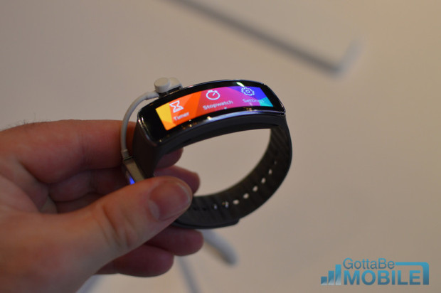 The Gear Fit is a great reason to think about buying the Galaxy S5.