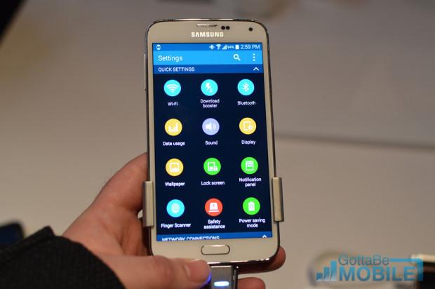 Galaxy S5 Display