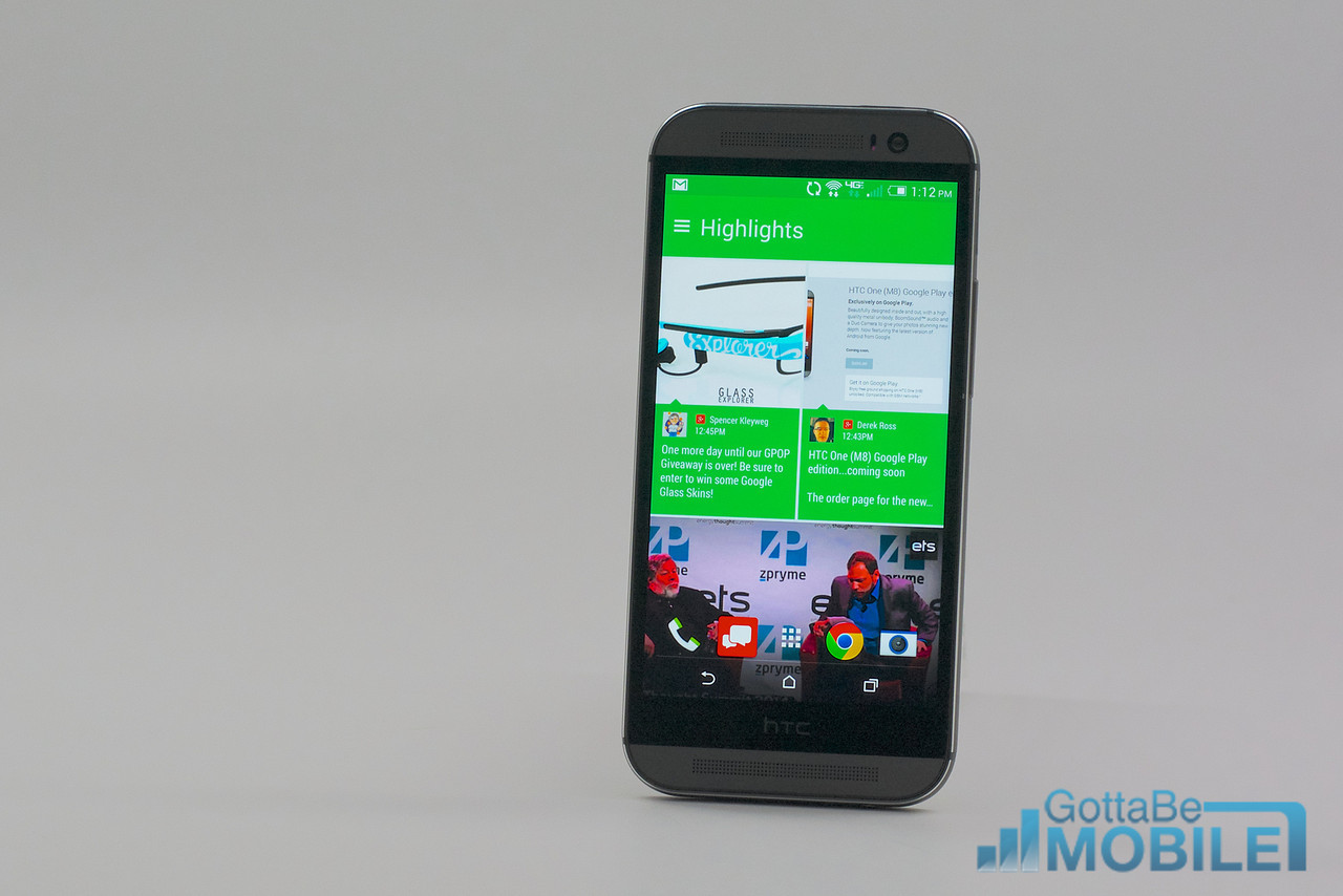 BlinkFeed offers a new experience for HTC Sense 6.