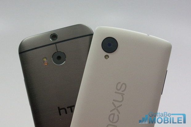 New HTC One M8 vs -  Nexus 512-X3
