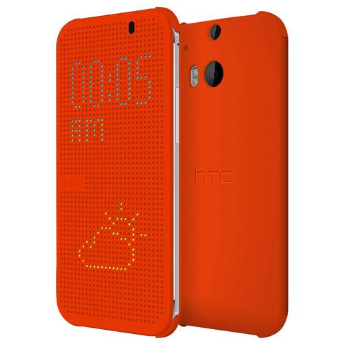 The Dot View Case for the new HTC One.