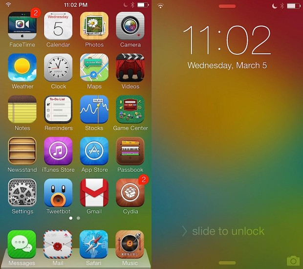 Ayecon for iOS 7